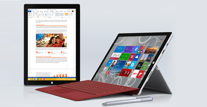Microsoft, Surface Pro 3