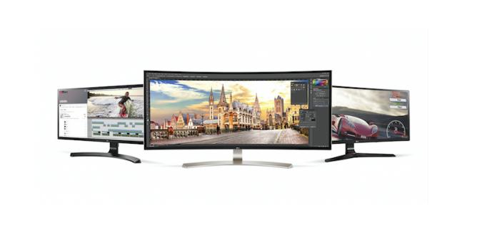 lg monitor ultra larg