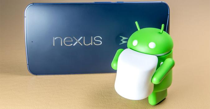 nexus android marshmalow