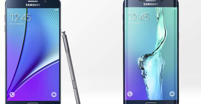 Samsung Galaxy Note 5 si Galaxy S6 Edge+