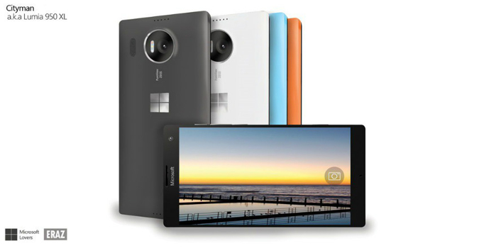 tableta lumia 950xl
