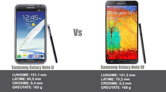samsung galaxy note 2 vs note 3